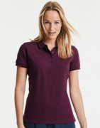 Dames Poloshirt Stretch Russell R-567F-0 Tailored