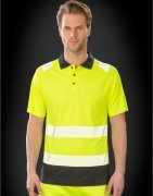 Heren Polo Result Recycled Safety R501X
