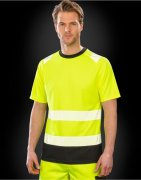 Heren T-Shirt Result Recycled Safety R502X