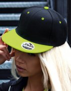 Bronx Original Flat Peak Snap Back Cap RC082X