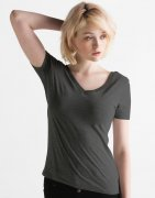 Dames T-shirt V Hals Mantis Scoop Back M119