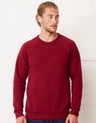 Heren Sweater Bella Unisex Crew Neck 3901