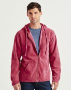 Heren Hooded Sweater met rits Comfort Colors 1568