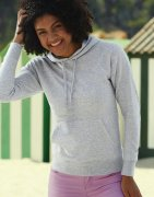 Dames Hoodie Fruit of the Loom Lightweight