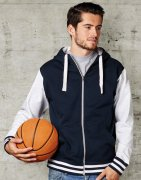 Baseball Sweat jacket Active Zip Hoodie FDM FZ002