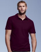 Heren Poloshirt Anvil Double Piqué 6280