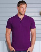 Heren Poloshirt Russell Stretch R-566M-0