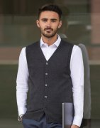 Heren Vest Gillet Russell Knitted Cardigan R-719M-0