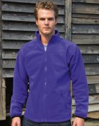 Heren Fleece Vest Result Fashion Fit Outdoor R220M
