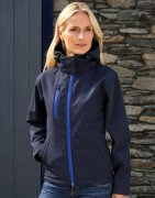 Softshell Dames Jas Result Hooded R230F