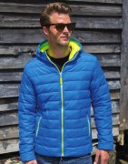 Heren Jas Result Snow Bird Hooded R194M