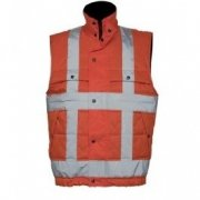 High Visibility Bodywarmers borduren
