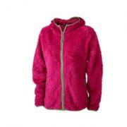 Dames Hooded Fleece Vest James & Nicholson JN563
