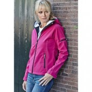 Softshell Dames Jas hooded Tee Jays 9554