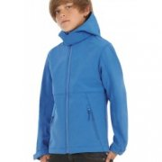 Softshell Kinder Jas Hooded B&C